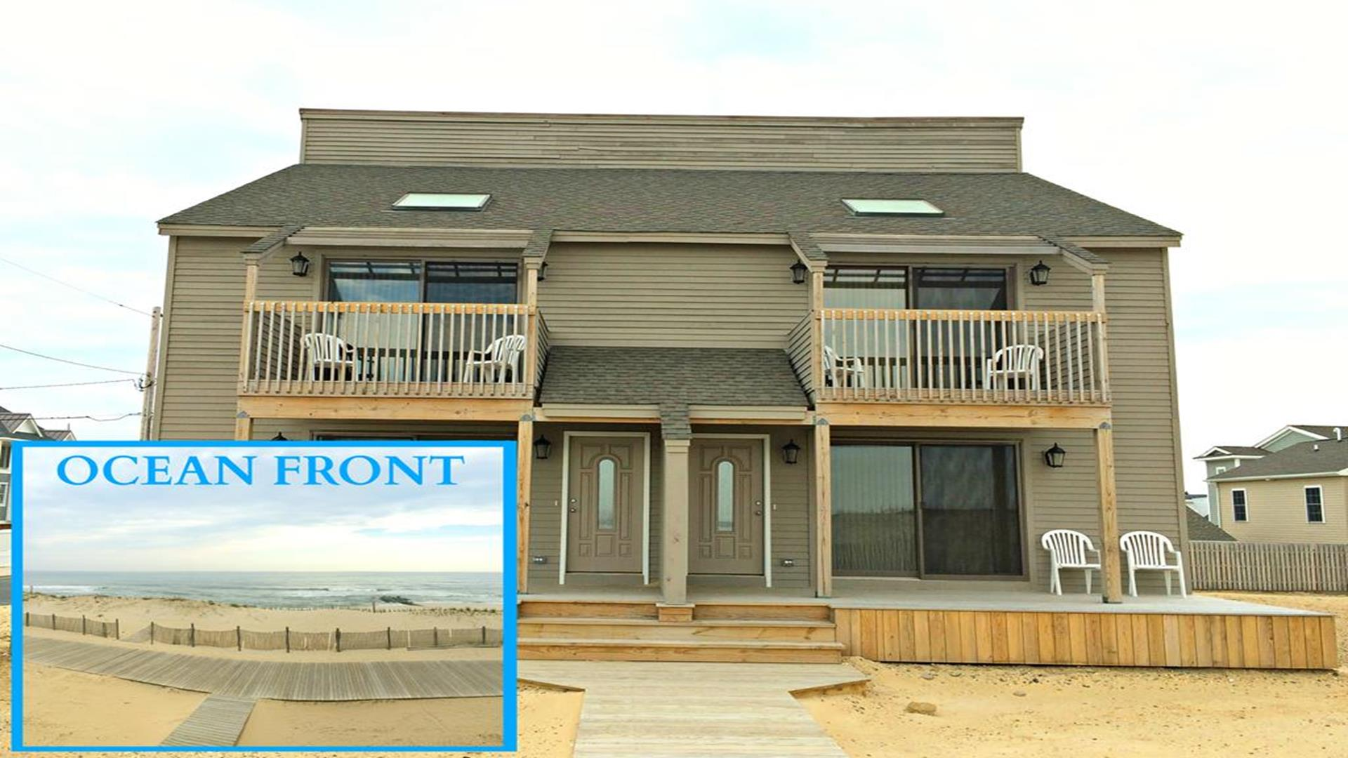 Ocean Front Home in Lavallette